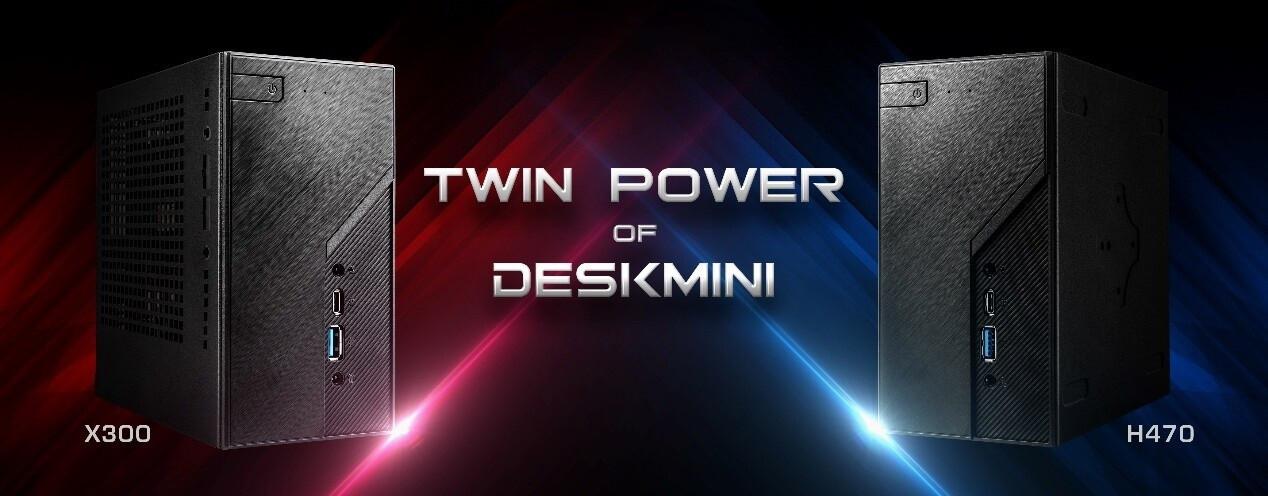 华擎发布新一代DeskMini迷你PC