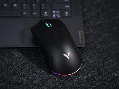 雷柏V30炫彩RGB游戏鼠标图赏
