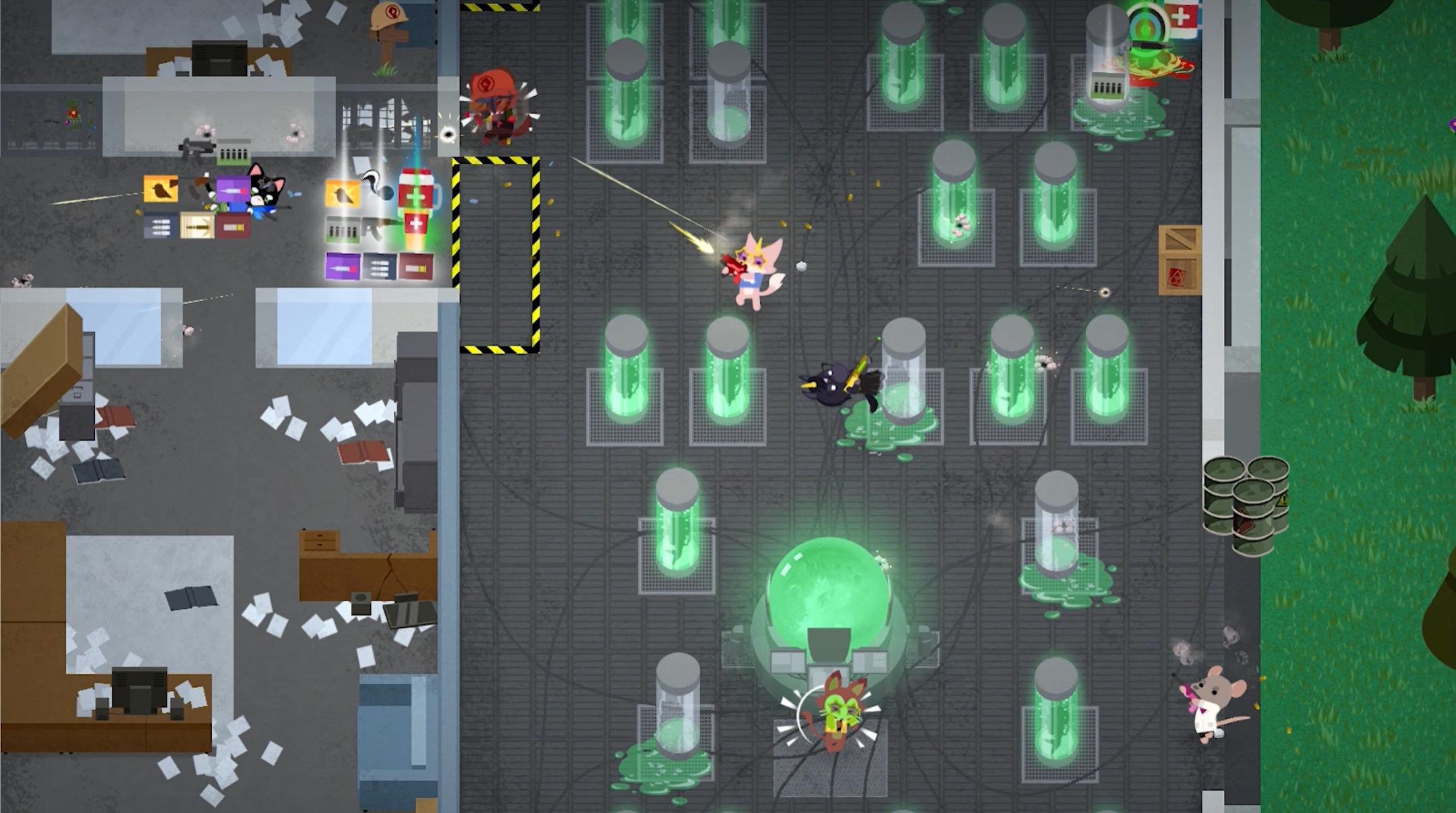 《超级动物大逃杀》在Steam上可以免费玩