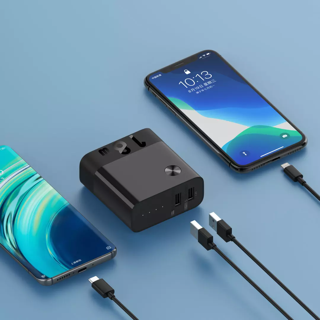 紫米推出双模充电器充电宝,多功能二合一