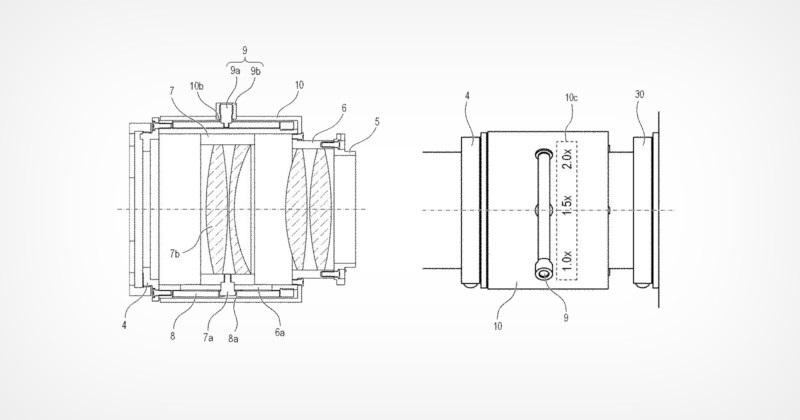 佳能增倍镜专利曝光:三档调节,配备显示器