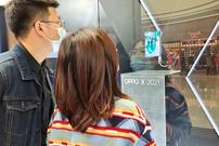 OPPO未来科技展首站登陆广州 卷轴屏概念手机亮相羊城