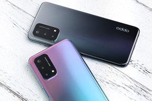 轻薄简约潮流质感配色 OPPO A93手机外观图赏