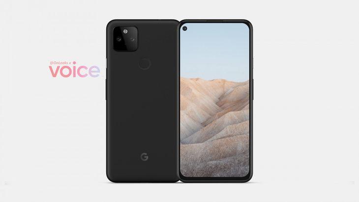 谷歌Pixel 5a渲染图曝光:挖孔屏+后置指纹