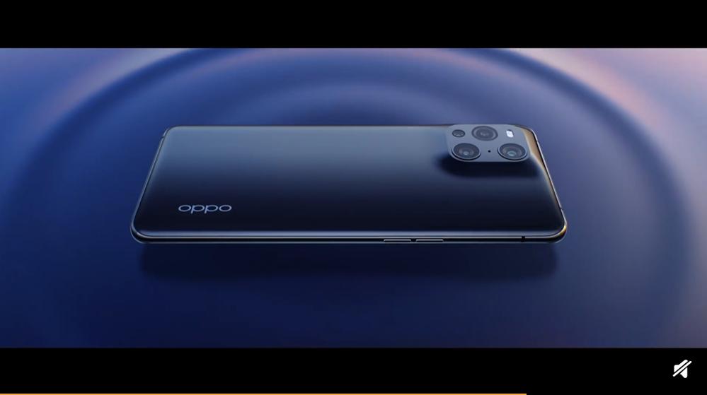 OPPO Find X3外型公布:未来流线设计,辨识度极高插图1