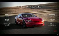 特斯拉Model S Plaid版来了