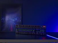 无线、蓝牙外加有线,雷柏V500PRO多模版背光游戏机械键盘视频