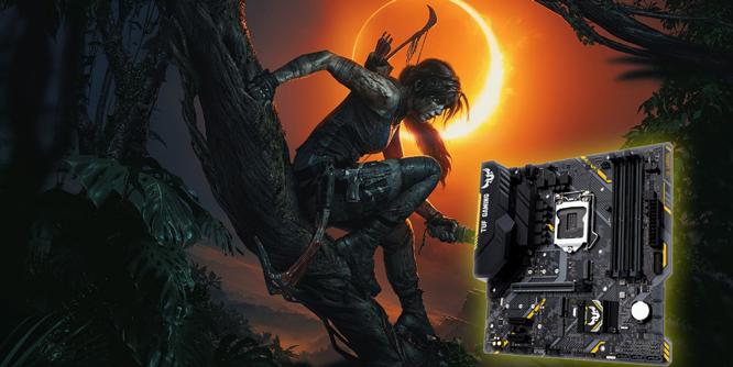 畅玩《古墓丽影:暗影》B360芯片组高性价比装机推荐