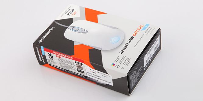 悄然升级 Sensei RAW 霜冻之蓝 V2电竞游戏鼠标评测