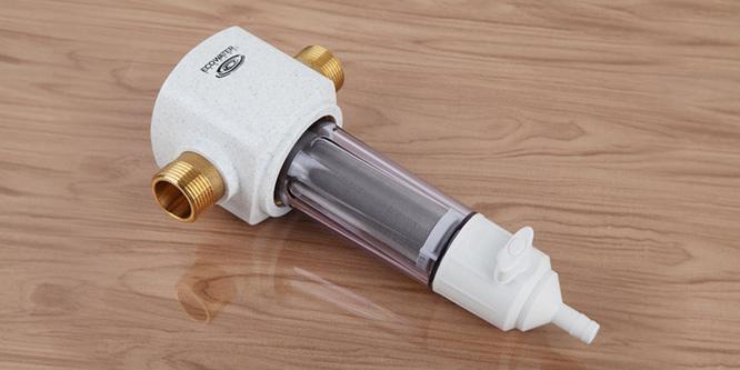 净水从源头开始 怡口前置过滤器ESF02-M评测