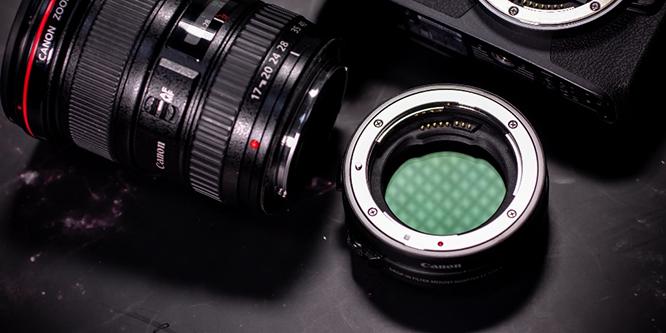佳能EF-EOS R插入式滤镜卡口适配器(含ND滤镜)