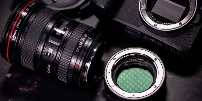 比想象中更加实用 佳能EF-EOS R插入式滤镜卡口适配器