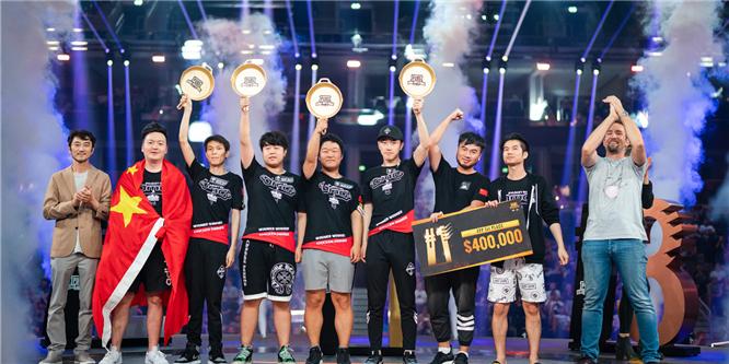 荣耀时刻:OMG战队获得PGI全球邀请赛 FPP模式全球总冠军!