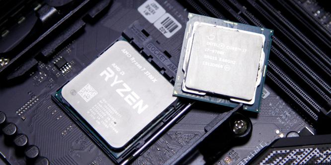 AMD 锐龙7 3700X(默频)全面对决i7-9700K(超频至5.0GHz)
