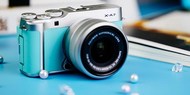 高颜值vlog拍摄新神器 富士X-A7无反相机评测