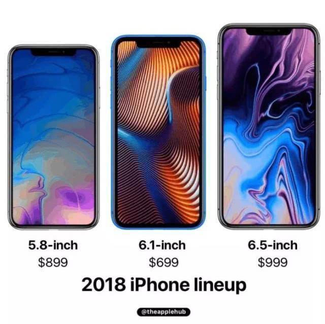 冲这点必买!6.5英寸iPhone Xs Max曝光:双玻璃机身,国行版双卡