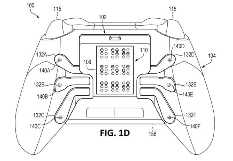 来自大企业的人文关怀 微软Xbox盲文手柄专利曝光