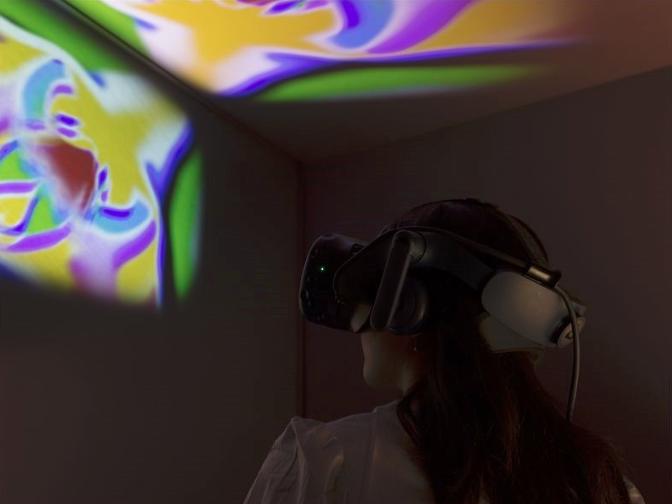 """""""科技""""与""""艺术""""的碰撞:HTC联手法国艺术家创作的VR艺术品将_门儿都没有"""