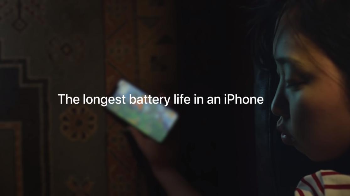 苹果新广告 iPhone XR电池续航历史最长