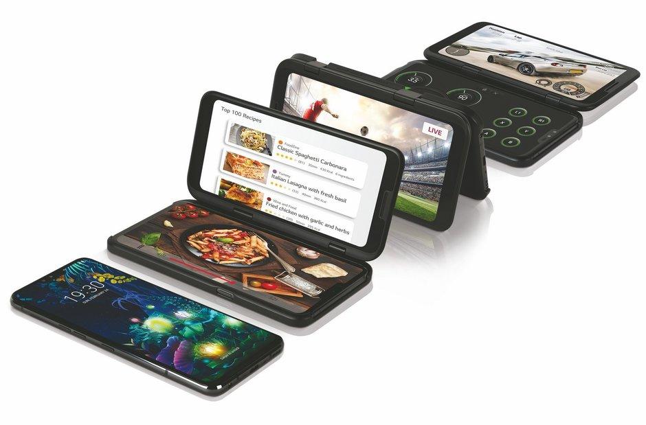 聊城房地产_LG推出5G双屏幕手机 用户可自由添加第二个默示器
