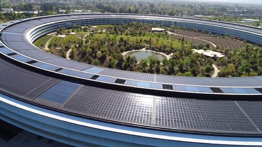 科技巨头变身环保标杆 苹果成为美国最大的太阳能企业用户