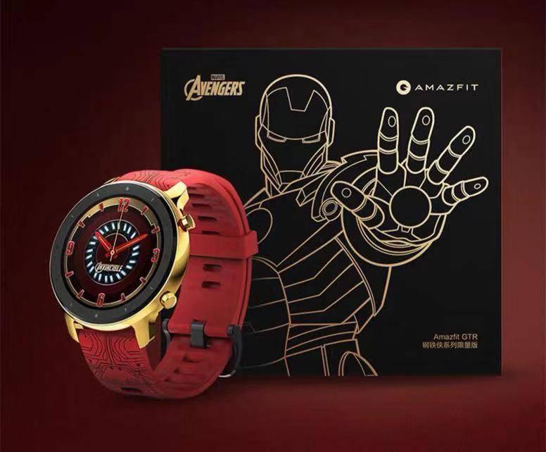 漫威宇宙之心 漫威迷们看过来!Amazfit GTR钢铁侠系列限量版智能手表开启预售