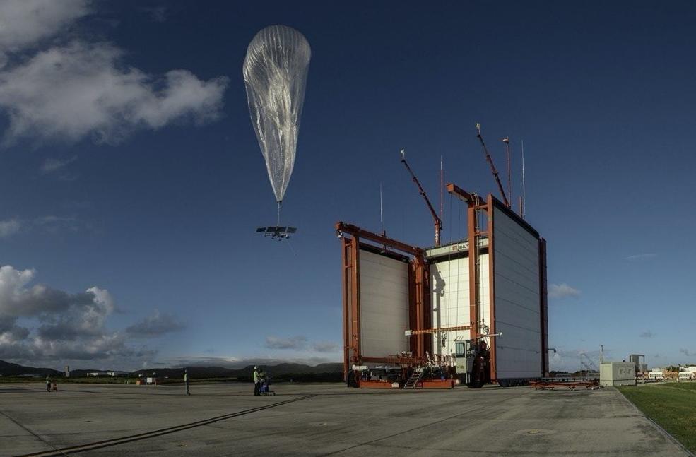 办事领域扩大 谷歌Loon热气球联网办事让20万居民顺利上网