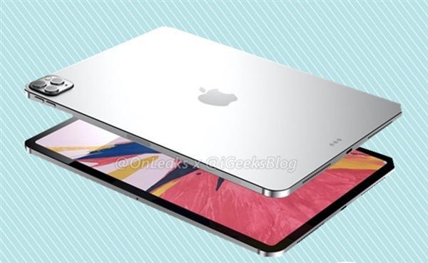 浴霸三摄没跑了!2020款iPad Pro外观被第三方配件商曝光
