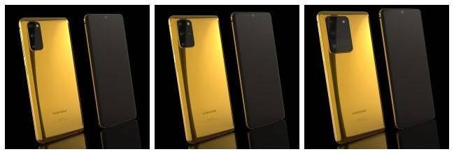 奢华!镀金版三星Galaxy S20系列发布,最高33840元