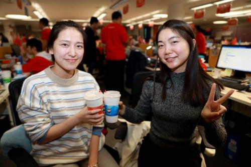 这家世界500强员工胖圈炫耀:双十一,竟然还有免费送奶茶这波神操作
