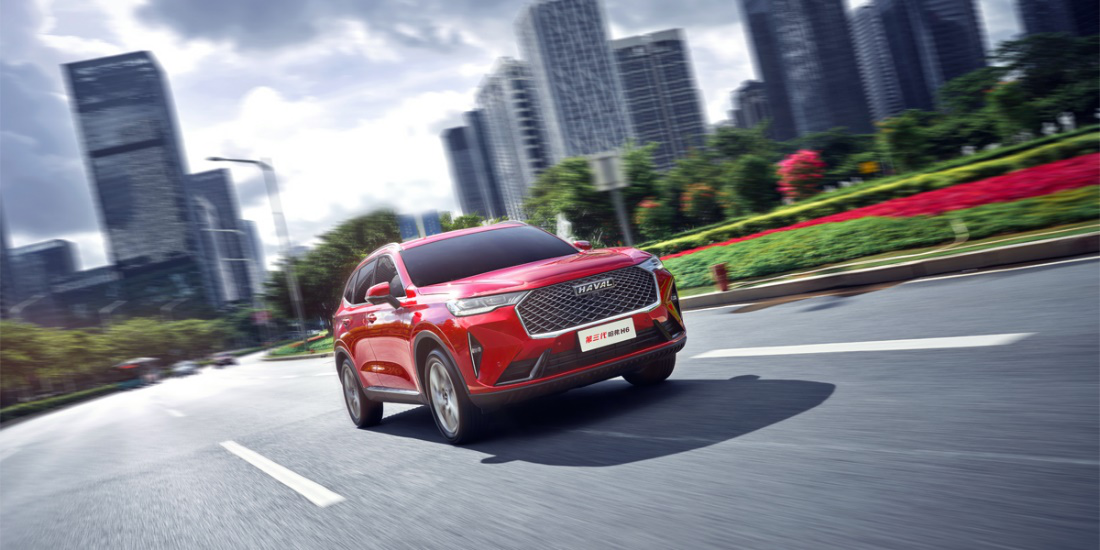 中国汽车首款50m全自动循迹倒车SUV第三代哈弗H6太神了!_-泡泡网