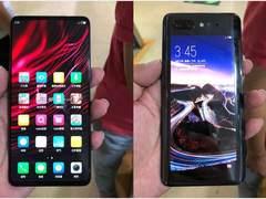 """这款""""双屏手机""""玩出新花样:前后都是屏,支持侧面指纹识别"""