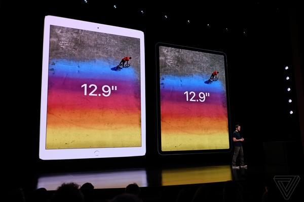 6499元起!全新iPad Pro发布:全面屏+A12X处理器+最强AR设备