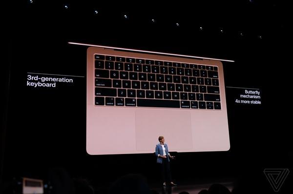1199美元起!苹果新款MacBook Air来了:视网膜屏+双USB-C接口