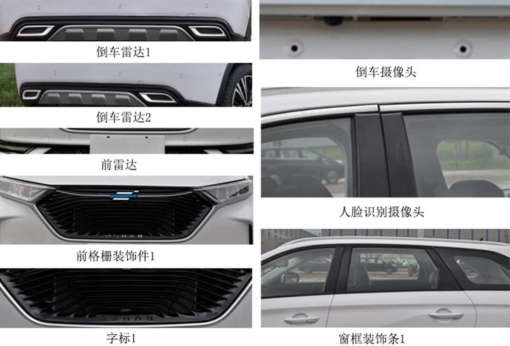 长安欧尚X7申报图曝光 今年11月上市/搭三种动力