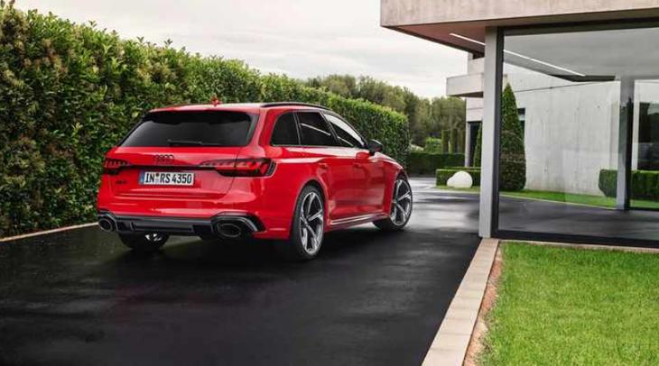 新款奥迪RS 4 Avant将明年6月上市 搭2.9T V6动力 外观极具运动感